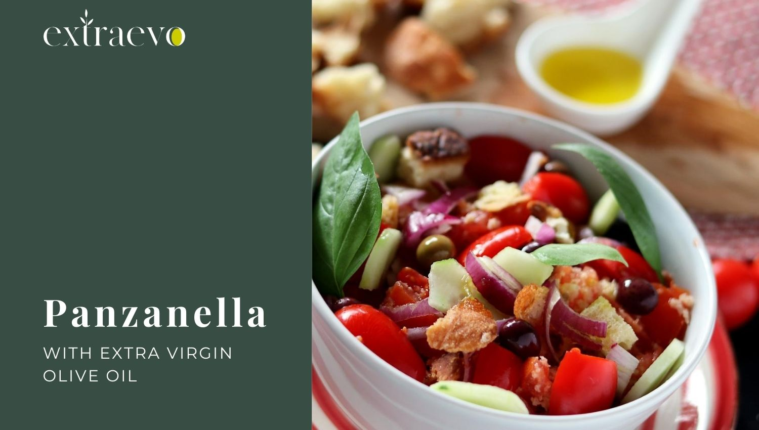 Panzanella with Extra Virgin Olive Oil
