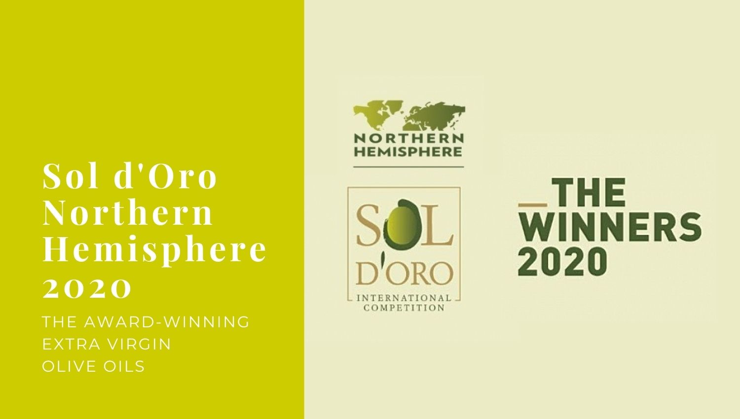 Sol d'Oro Northern Hemisphere – 2020 Winners