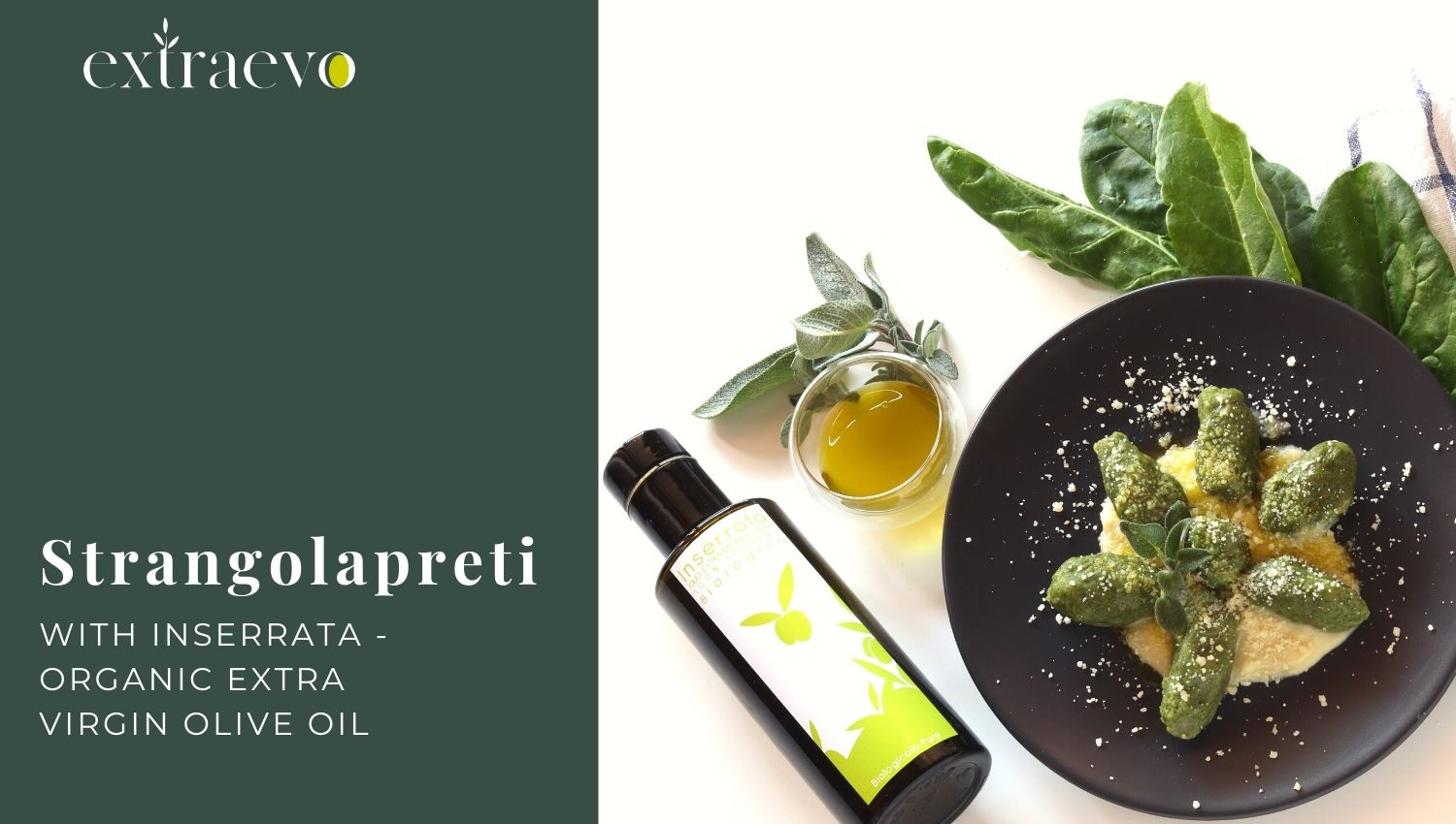 Strangolapreti with Extra Virgin Olive Oil – Inserrata Organic